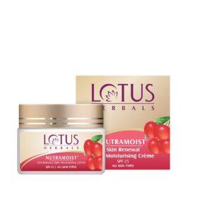 Moisturising Crème Lotus Herbals