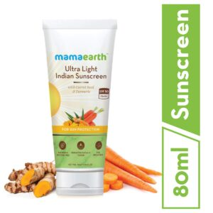 Sunscreen LotionMamaearth's