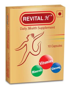 Daily Health Supplement Revital H